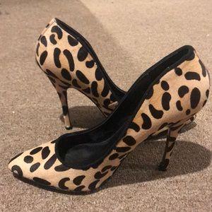Steve Madden cheetah pumps